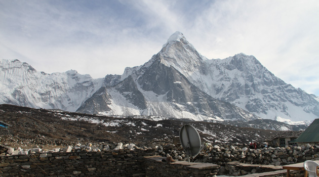 View from Dingboche