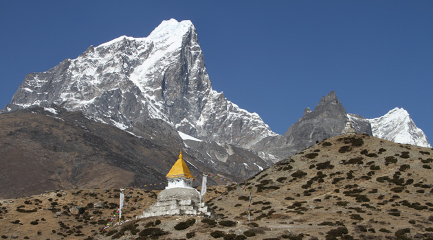 Mountains from Everest